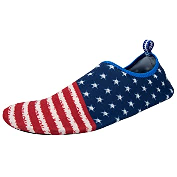 98622b0109e0 Hankyky Unisex Slip-on Water Shoes Anti-slip Aqua Shoes Socks Quick Dry  Breathable Beach Swim Surf Yoga Outdoor Soft Shoes  Amazon.co.uk  Sports    Outdoors