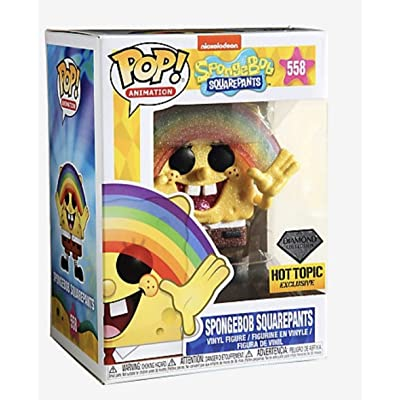 Funko POP! Diamond Collection Spongebob Squarepants #558 Exclusive: Toys & Games