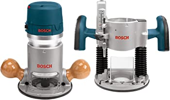 Bosch 2.25-HP Combo Fixed/Plunge Corded Router