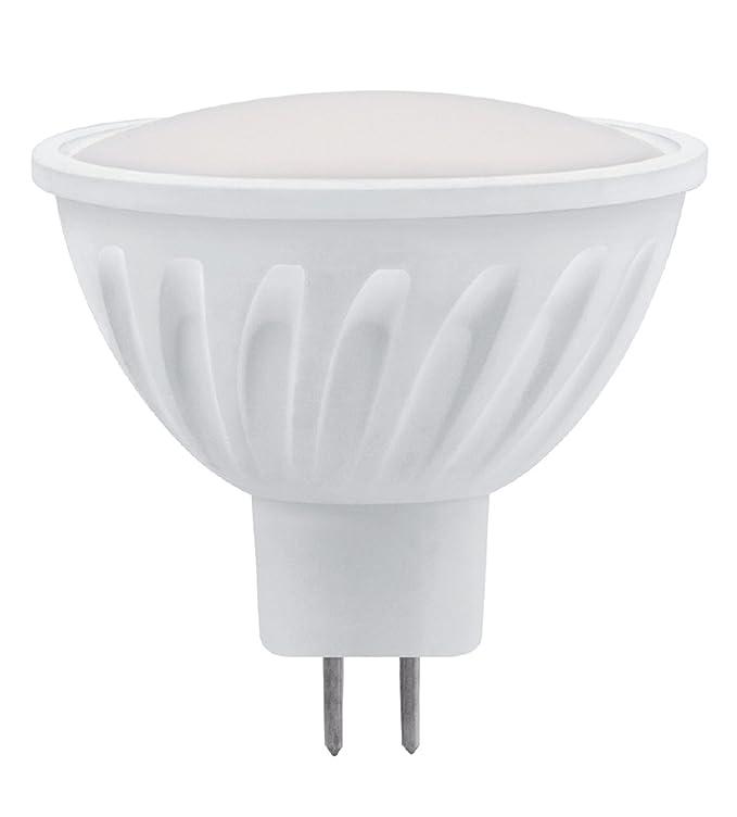 Matel 21602 - Bombilla LED dicroica, 120º SMD, cerámica MR16, 3W, luz cálida: Amazon.es: Iluminación