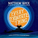 Every Exquisite Thing Audiobook by Matthew Quick Narrated by Christy Meyer