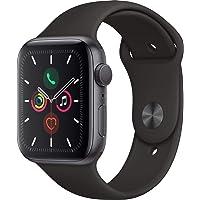 Apple Watch Seri 5 GPS 44mm Uzay Grisi Alüminyum Kasa ve Siyah Spor Kordon MWVF2TU/A