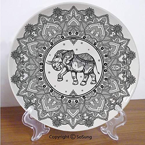 (Elephant Mandala 6