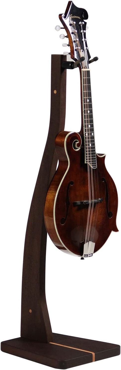 Zither Red Oak Handcrafted Wood Z Guitar Stand