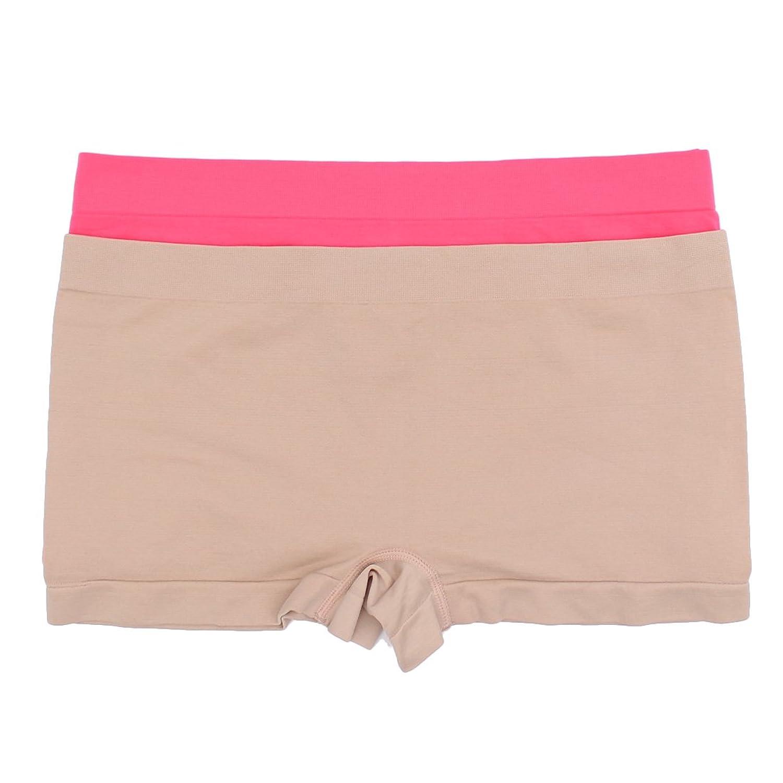 Plus Size 2 Pack Plus Size Boy Short Panties