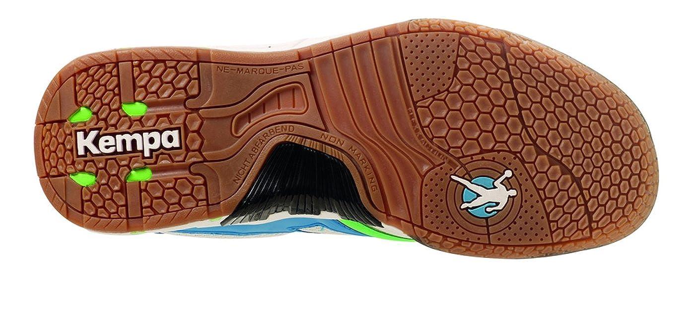 Performer Women 200846702 - Zapatillas de balonmano para mujer, color azul, talla 37 Kempa