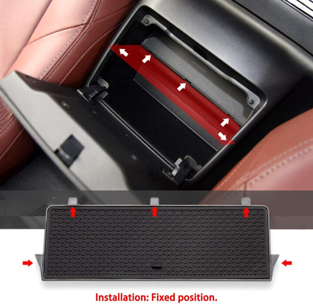 Everrich Car Center Console Organizer Glove Box Organizers Armrest Box Secondary Storage for Mazda MX-5 RF MIATA 2019