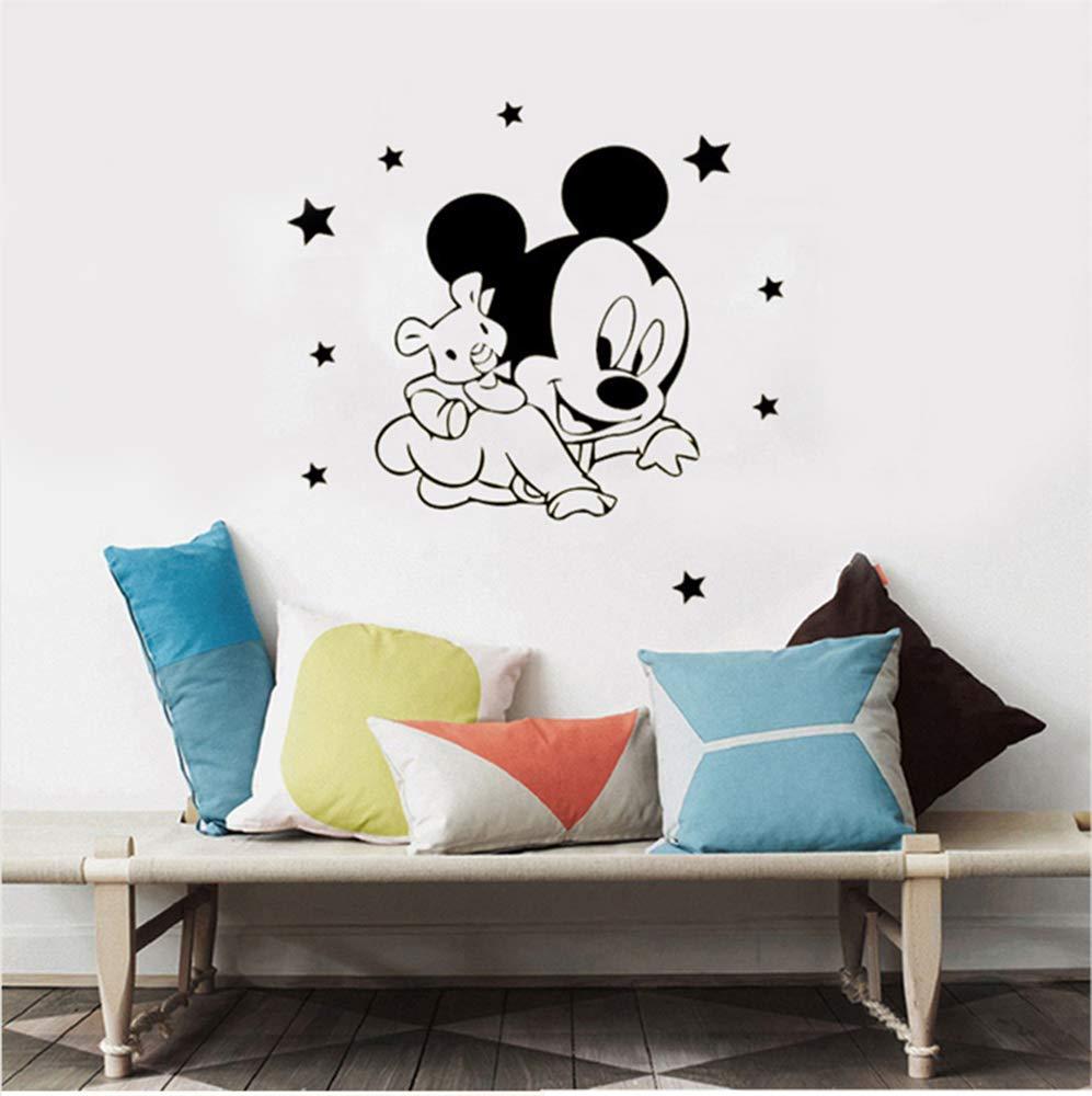 Mickey Minnie Mouse Wall Art Decal Sticker 6 Estilos Mickey y ...