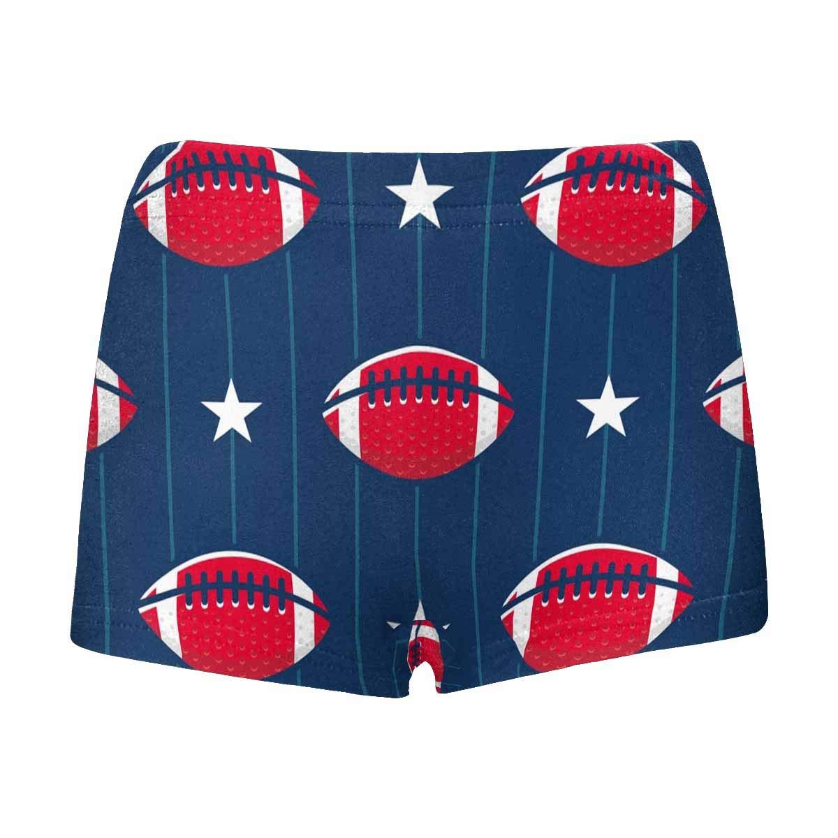 5T-2XL INTERESTPRINT Boys Red Baseball Boxer Brief Underwear