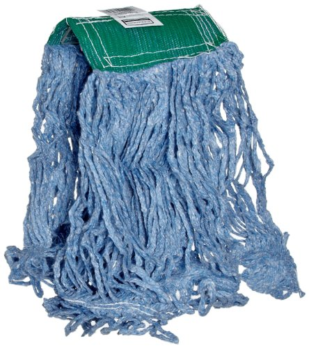- Rubbermaid Commercial Super Stitch Blend Mop, Medium, Blue, FGD25206BL00