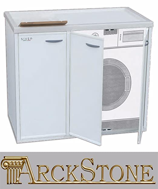 Mueble de lavandería cubre lavadora, protege la lavadora, con ...