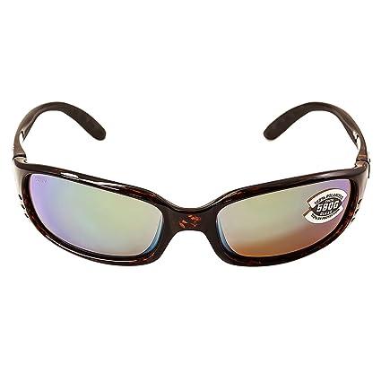 7f7140b0fc Costa Brine Polarized Sunglasses - Costa 580 Glass Lens Tortoise Green  Mirror