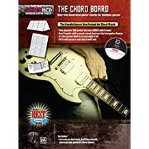 The Chord Board: Over 500 Illustrated Guitar Chords for Multiple Genres, Poster / Folder / Triangular Display