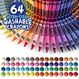 Crayola Ultra Clean Washable Crayons, Built in