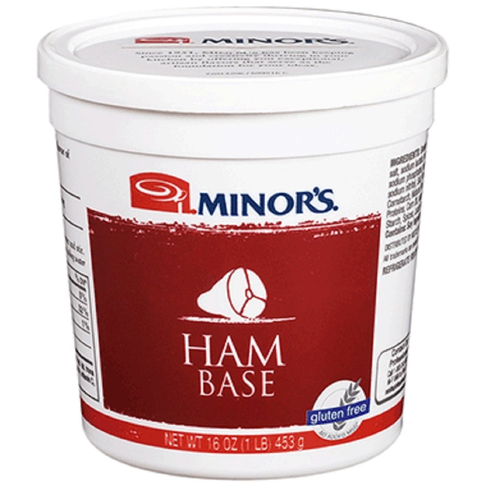 Minor's Ham Base Gluten Free No Added MSG 16 Ounce