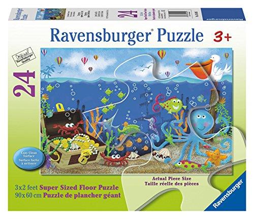 Ravensburger Underwater Treasure Floor Puzzle (24 Piece)