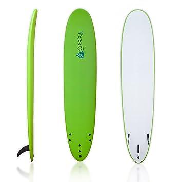 Greco Surf - Tabla de surf de suave espuma (22,86 cm), verde: Amazon.es: Deportes y aire libre