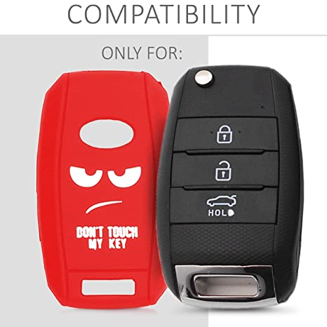 Amazon.com: Kwmobile - Funda de silicona para llave de coche ...