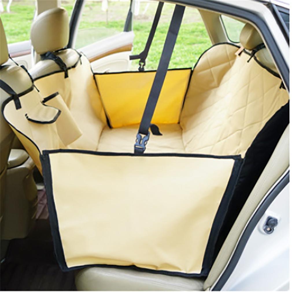 2 in 1 sedile per cani Amaca per schienale o sedile anteriore impermeabile Nonslip sostegno Siivton Pet Car Cover Sedie camion laterale Flaps Barriera coperta tappetino per SUV auto