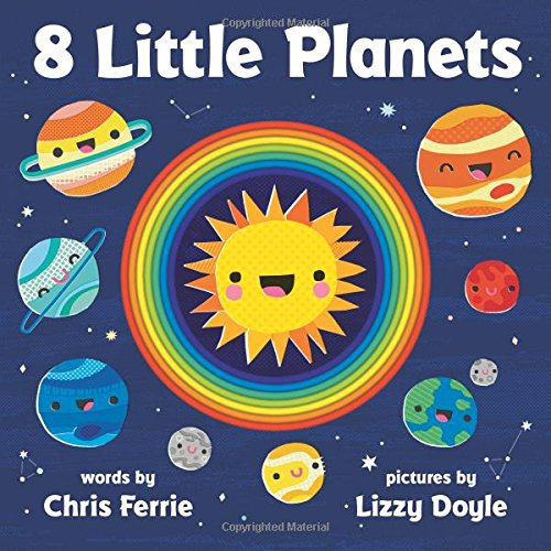 8 Little Planets - Books Space Kids