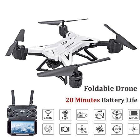 KY601S Batería Larga Vida Plegable Foto Avión Drone Altitude Hold ...
