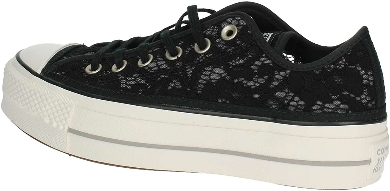 Converse 561287C Black Black Flat Shoes
