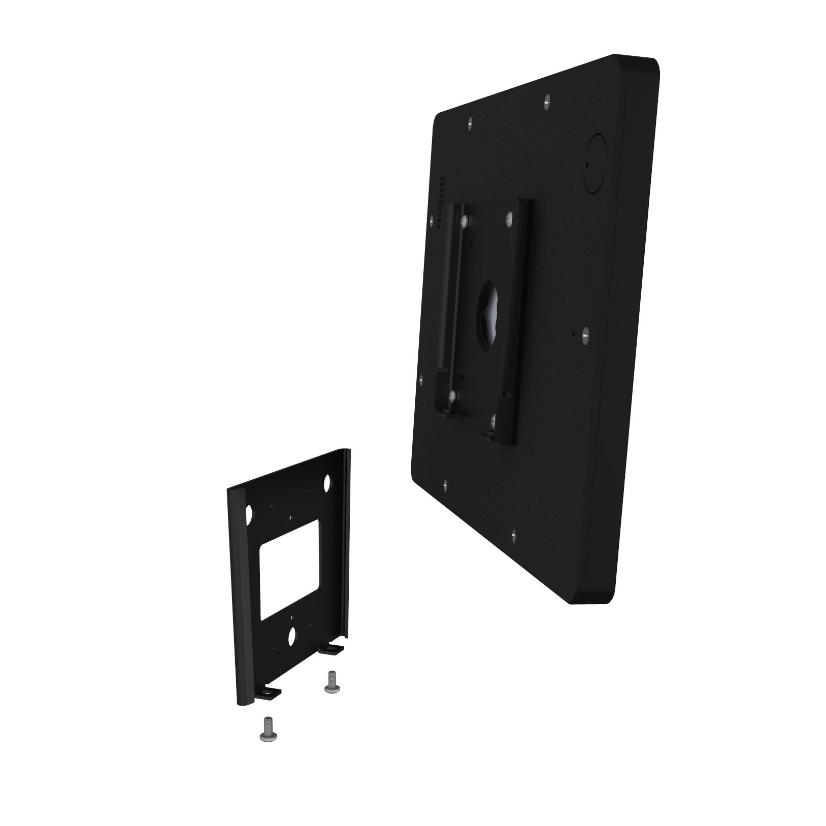 VidaMount iPad 2/3/4 Black Home Button Covered Fixed Permanent Glass Mount [Bundle] by VidaMount (Image #5)