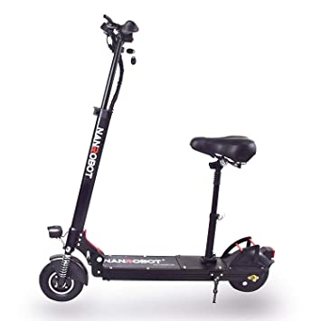 Amazon.com: NANROBOT X4 Scooter eléctrico ligero plegable ...
