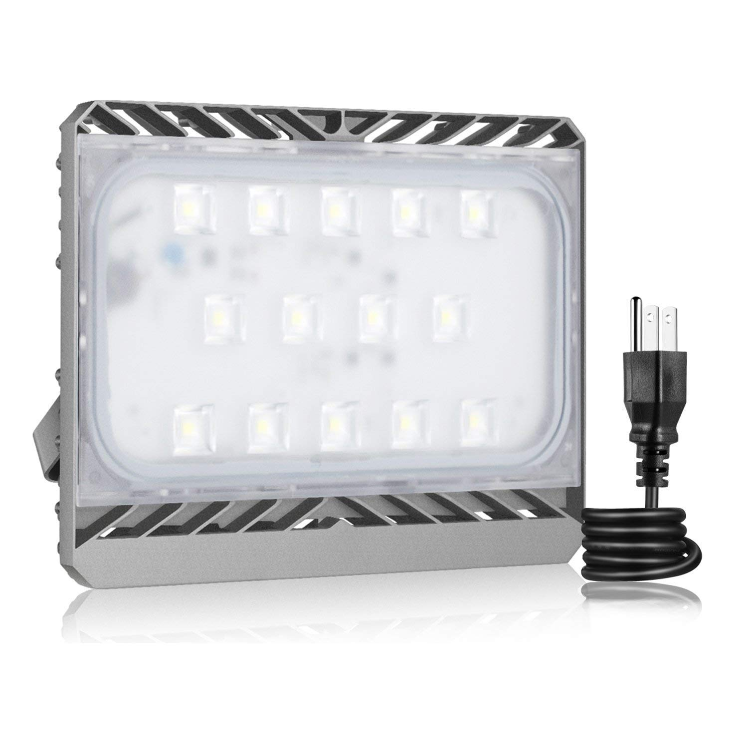 LED Flood Light Outdoor, STASUN 70W 6300lm LED Security Lights, 6000K Daylight, Built with Cree LED Chips, Waterproof, Great for Home, Yard, Garage