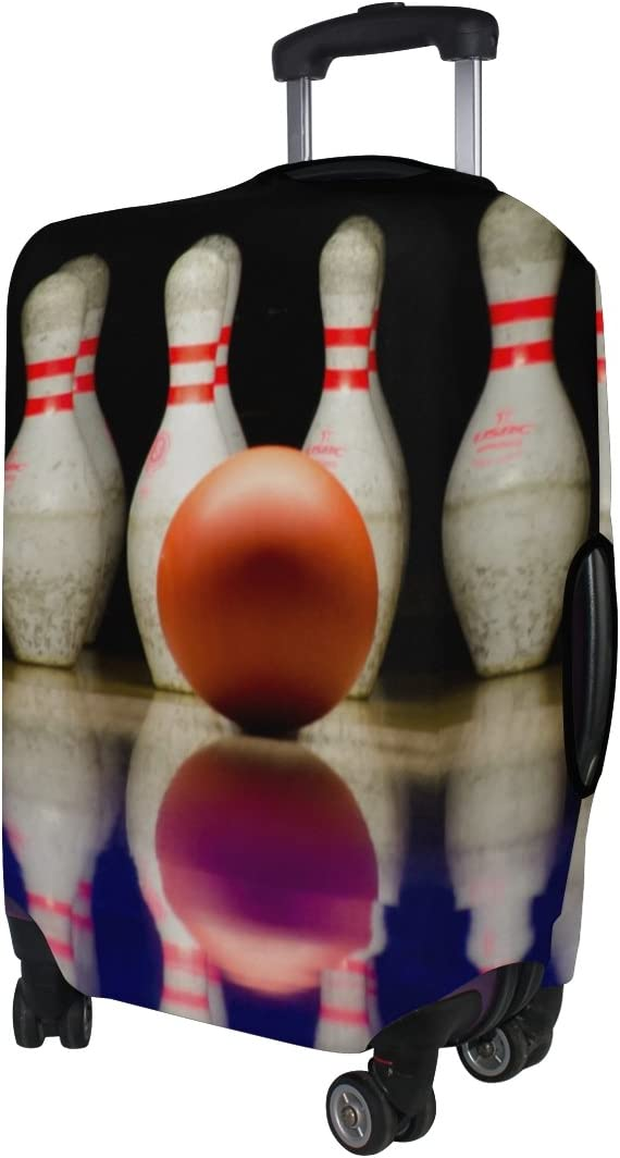 LEISISI Bowling Luggage Cover Elastic Protector Fits XL 29-32 in Suitcase