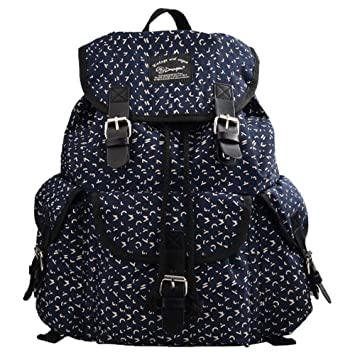 Douguyan Girl Women Canvas Floral School Backpack Lightweight Cute College 297A