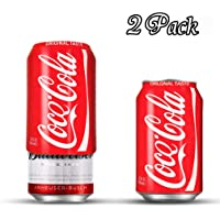 Dichmag 2 Packs of Beer Can Covers, Silicone Sleeve Hide a Beer -Hide Your Beverage Can, Perfect for Outdoors Events, Party, Golf Course, Park, Parties, Sporting Events, Beach, Travel, Football Games
