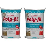 Fairfield ZPVDts Poly-Fil Premium Fibre Fill, 20 Ounce (2 Pack)