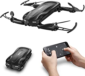 Syma Z1 Foldable RC Drone with 720 HD Wi-fi Camera