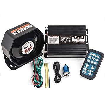 Amazon.com: Yhaavale 920 - Amplificador de coche con sirena ...