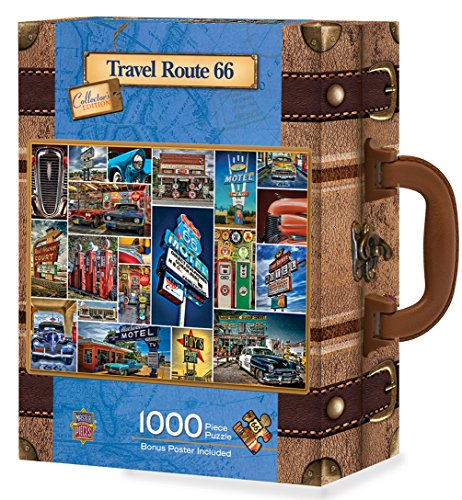 Scenic Route 66 (MasterPieces Route 66 1000 Piece Suitcase Jigsaw Puzzle)