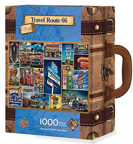 MasterPieces Route 66 1000 Piece Suitcase Jigsaw Puzzle