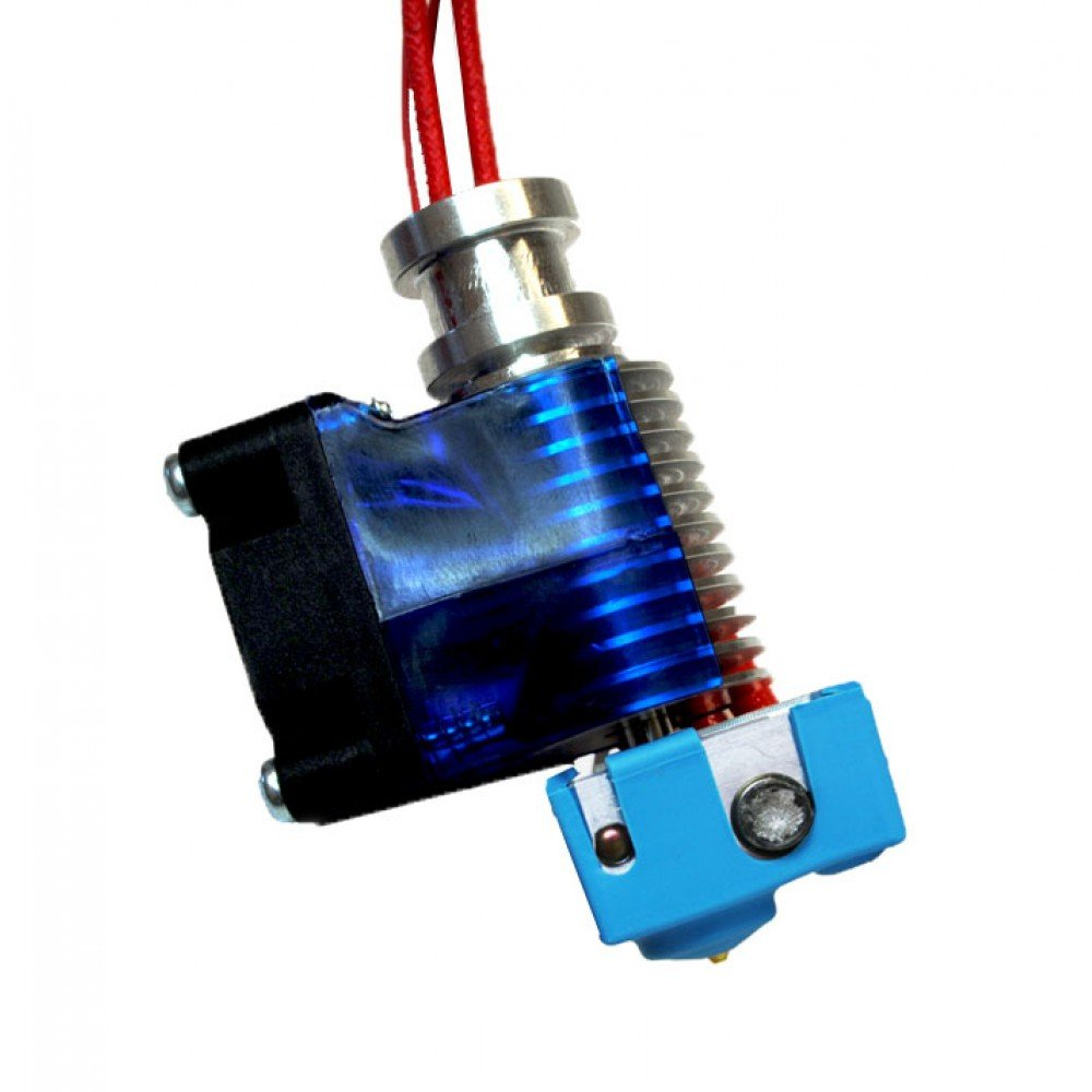 Genuine E3D Prusa i3 Reprap 3D Printer V6.1 Extruder Hot End Kit - 1.75mm Universal (Direct) (12v)
