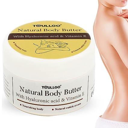 ToullGo - Manteca de karité - Crema corporal reparadora biológica, con vitamina