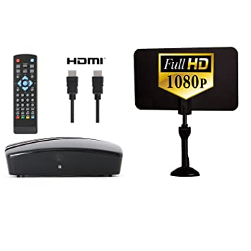 Digital Converter Box + Digital Antenna + HDMI and RCA Cable - Complete Bundle to View  sc 1 st  Amazon.com & Amazon.com: Digital Converter Box + Digital Antenna + HDMI and RCA ... Aboutintivar.Com