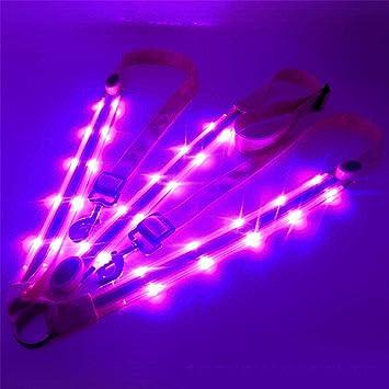 EqWong - Arnés para Caballo con luz LED, Correa de Pecho para ...