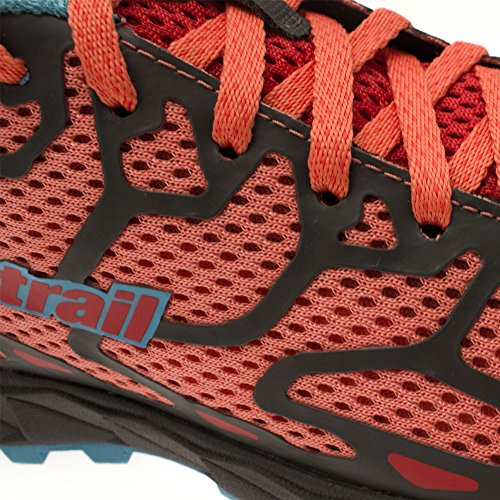 Montrail Womens Rogue F.K.T. Lightweight Trail Running Mesh, Rubber Sneakers Melonade