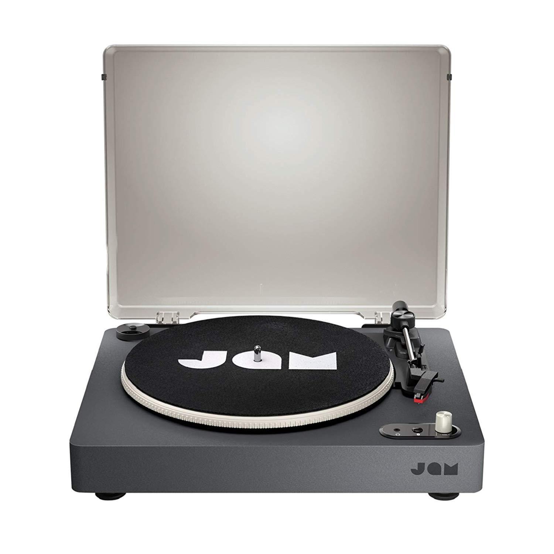 Jam Tocadiscos Bluetooth, Transmisión de 3 Correas para un Sonido ...