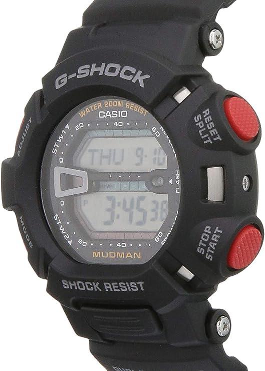 CASIO G-Shock Mudman New Original G-9000-1 Black BAND /& BEZEL Combo G-9000 G9000