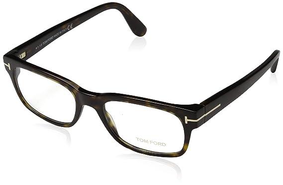 80ba0b0c12 Tom Ford FT5432 Eyeglasses 052 Dark Havana at Amazon Men s Clothing ...