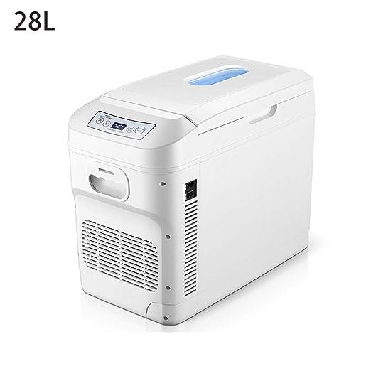 AIBAB Mini Nevera Refrigerador del Coche Coche 24V / 220V De Doble ...