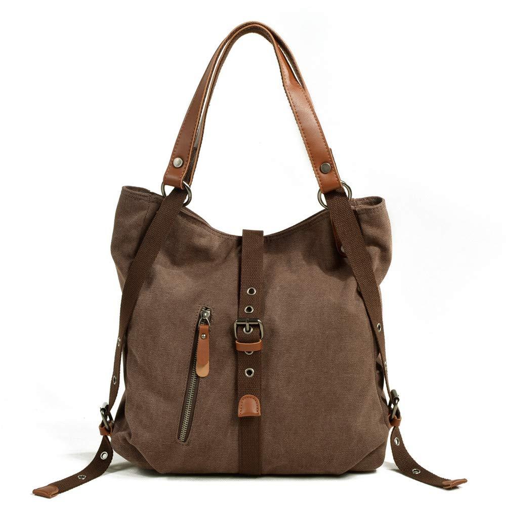 DASEXY Frauen Casual Canvas Canvas Canvas Tote Schultertasche Mode Damentasche, Handtasche (Farbe   Khaki) B07PWGR2BR Clutches Verhandlung 2e6663