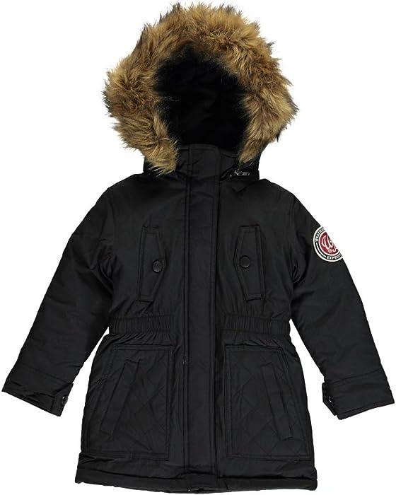 cf86c2c28 Amazon.com  Weatherproof Little Girls Down Alternative Winter Fleece ...