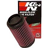 K&N Filtro de ar do motor: Alto desempenho, Premium, Filtro de ar Powersport: Serve para POLARIS 1996-2019 (veja a descrição
