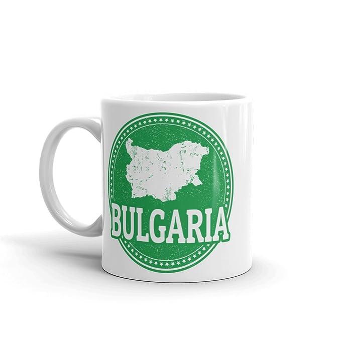 Amazon com   Bulgaria 10oz Coffee Tea Mug #5563: Coffee Cups